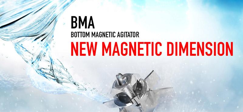 INOXPA представляет новую гамму магнитных мешалок BMA