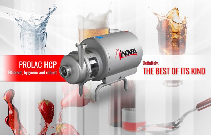 Насос PROLAC HCP: Эффективный, гигиенический и надёжный
